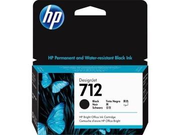 Кассета для принтера HP 3ED70A, черный, 38 мл
