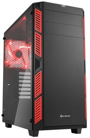 Sharkoon AI7000 Tempered Glass Red