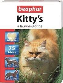 Beaphar Kittys With Taurin/Biotin 75 Tablets