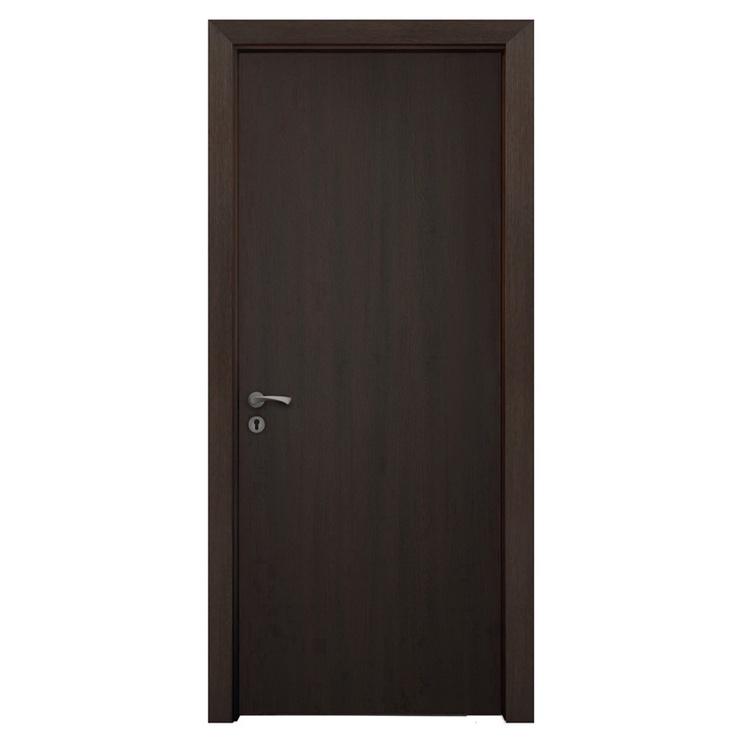 Vidaus durų varčia Wenge, ruda, 200x60 cm