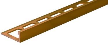Apdailos juostelė, aukso spalvos, 250 cm