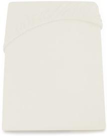 Palags DecoKing Amelia, balta, 140x200 cm, ar gumiju