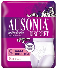 Подгузники Ausonia Discreet, Plus, 8 шт.