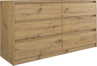Top E Shop Karo K140 Chest of 6 Drawers Artisan
