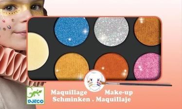 Djeco Body Art Palette 6 Colours Metallic DJ09232