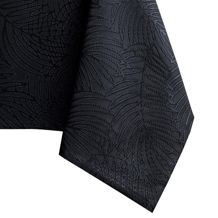 Скатерть AmeliaHome Gaia HMD Black, 110x140 см