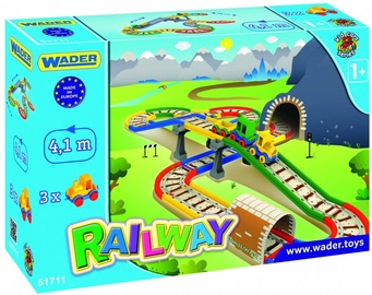 Wader Railway With A Bridge Kid Cars 51711