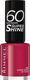 Rimmel London 60 Seconds Super Shine 8ml Nail Polish 335