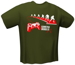 GamersWear Gamepad Dribbler T-Shirt Olive M