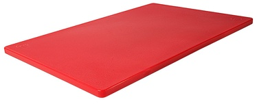 Contacto Colour Coded Cutting Board 45cm Red