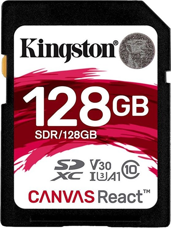 Kingston Canvas React SD 128GB