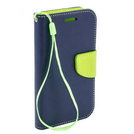 Telone Fancy Diary Bookstand Case For Nokia X6/6.1 Plus Blue/Light Green