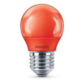 SPULDZE LED P45 7W SARKANA E27 10KH (PHILIPS)