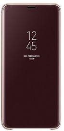 Samsung Clear View Standing Cover For Samsung Galaxy S9 Plus Gold