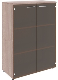 Skyland Wave WMC 85.2 Office Cabinet Sonoma Oak/Dark Wood