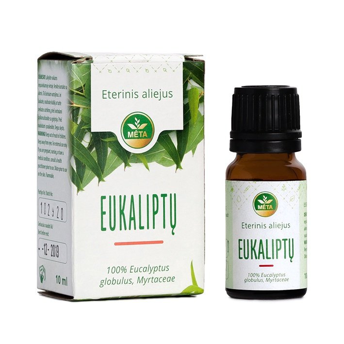 ECO META Essential Eucalyptus Oil 10ml