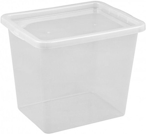 Plast Team Basic Box with Lid 430x348x330mm