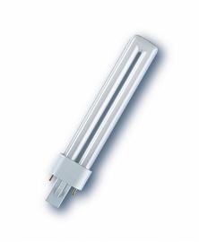 Kompaktinė liuminescencinė lempa Osram T12, 11W, G23, 4000K, 900lm