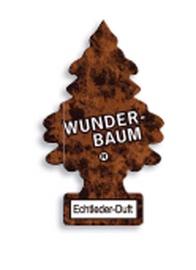 Automobilių oro gaiviklis Wunder-Baum Echtleder-Duft