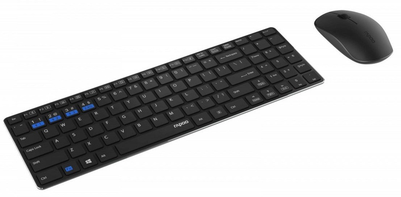 Rapoo Multi Mode Wireless Mouse And Keyboard 9300