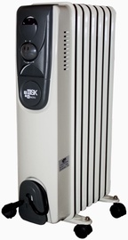 Besk 1500w 7 Fin Oil Radiator