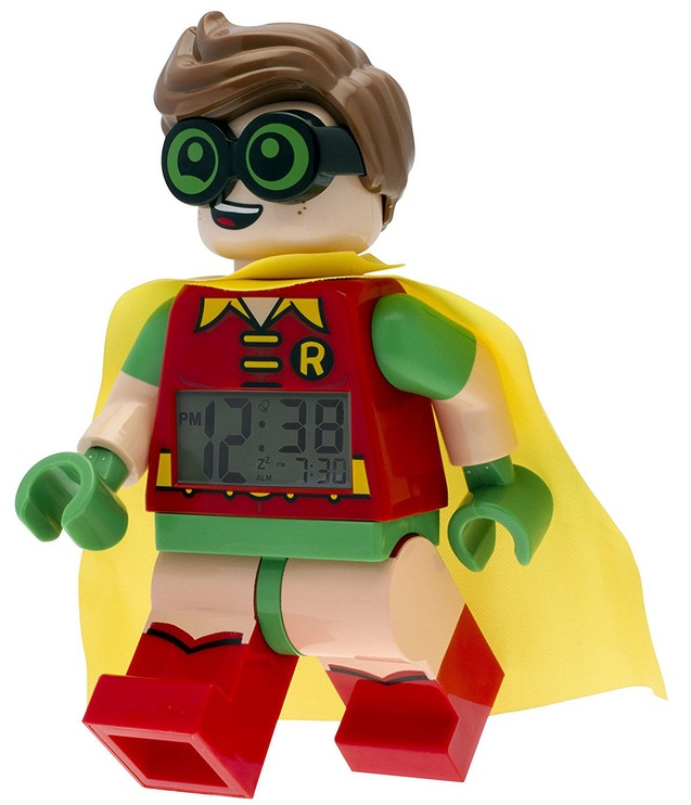 ClicTime LEGO Minifigure Alarm Clock Robin
