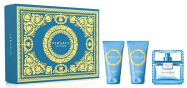 Набор для мужчин Versace Man Eau Fraiche 3pcs Set 150 ml EDT
