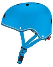 Šalmas Globber Go Up Lights 506-101, mėlynas, 450 - 510 mm