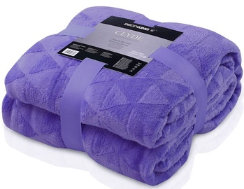DecoKing Clyde Blanket Dark Purple 150x200cm