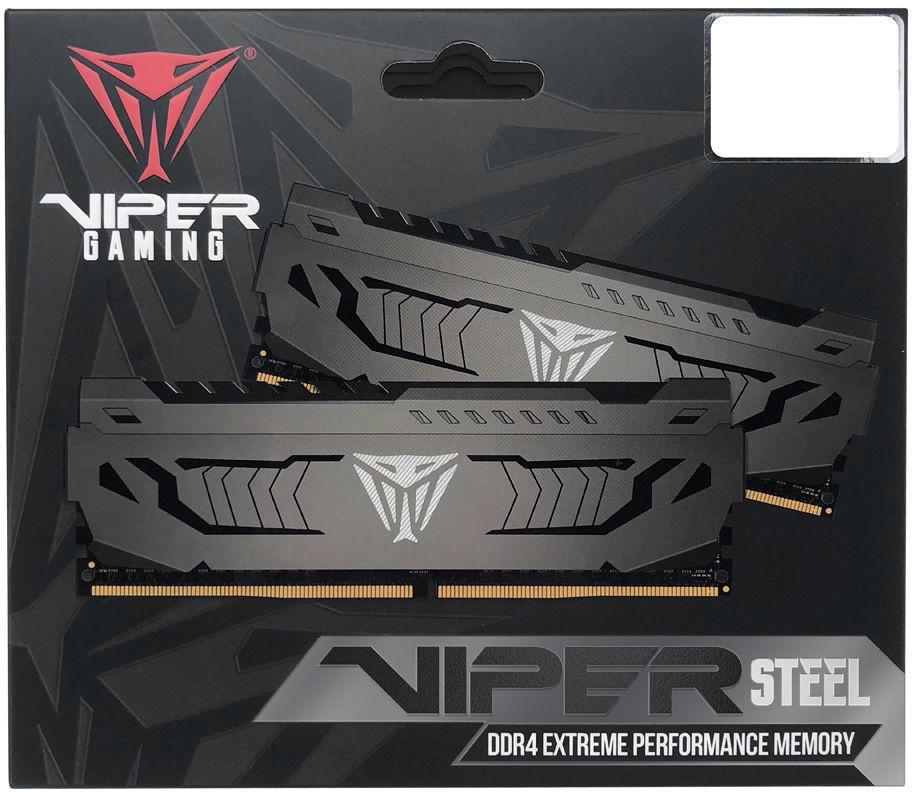 Patriot Viper Steel 8GB 3200MHz CL16 DDR4 PVS48G320C6 - Krauta.ee