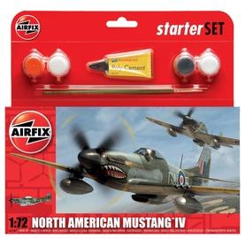 Airfix North American Mustang IV Starter Set 1:72