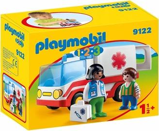 Playmobil 1-2-3 Rescue Ambulance 9122