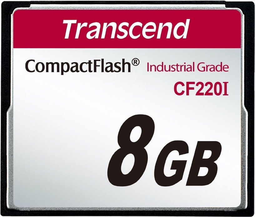 Transcend 8GB Industrial Temp CF220I CF Card