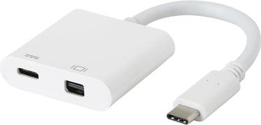 eSTUFF ES623004WH USB-C MiniDP Charging Adapter