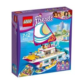 Konstruktorius LEGO Friends, Saulėtasis katamaranas 41317