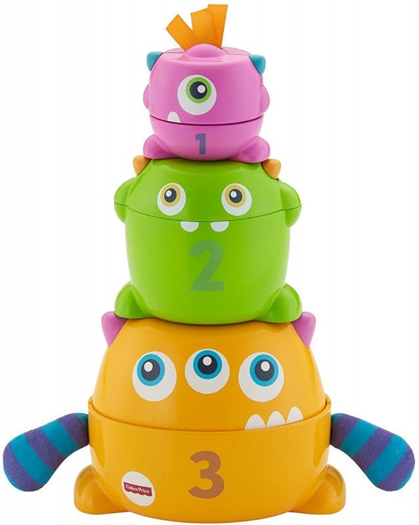 Fisher Price Stack & Nest Monsters FNV36