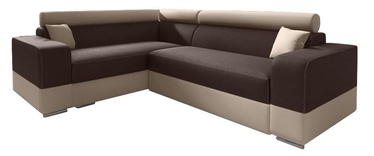 Idzczak Meble Infinity Mini Corner Sofa Left Brown/Beige