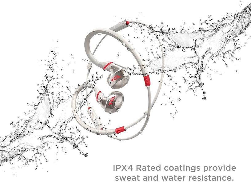 Belaidės ausinės TCL ACTV100BTWT Crimson White