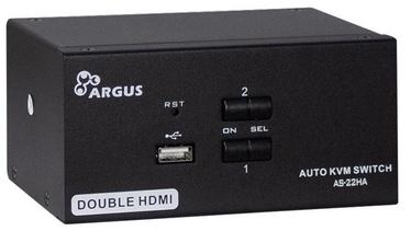 Inter-Tech AS-22HA HDMI KVM Switch