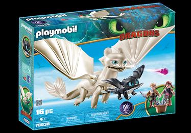 Konstruktorius Playmobil Dragons 70038 drakonai