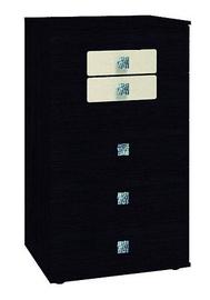 Glazov Ameli 9 Chest Of Drawers 60x104x60cm Wenge