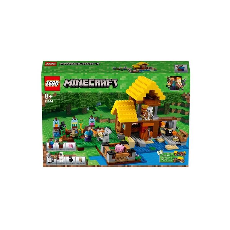Konstruktorius LEGO Minecraft The Farm Cottage 21144