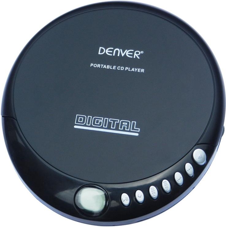 Музыкальный проигрыватель Denver DM-24, серый