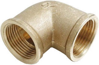 """Sobime Elbow Connector Brass 1 1/4""""FF"""