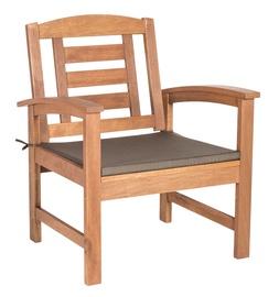 Home4you Woody Garden Chair w/ Padding Meranti
