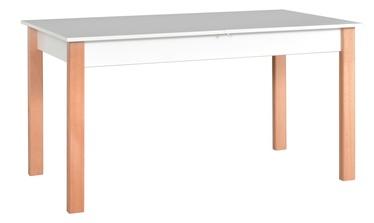 Drewmix Alba 2 Expanding Table 140/180cm White/Sonoma Oak