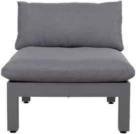 Home4you Modular Sofa Fluffy 82x93x66cm Gray