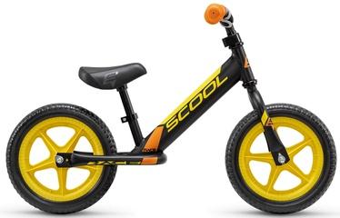 "Balansinis dviratis Scool Pedex Race, geltonas, 12"""