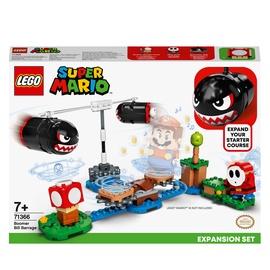 Конструктор LEGO® Super Mario Огневой налёт Билла-банзай. Дополнительный набор 71366, 132 шт.