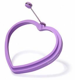 Fissman Egg Ring Heart 11x2cm Purple